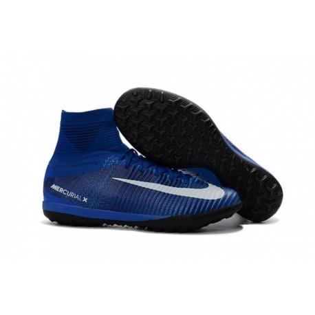 2016/2017 Nike MercurialX Proximo II IC Bleu / Blanc
