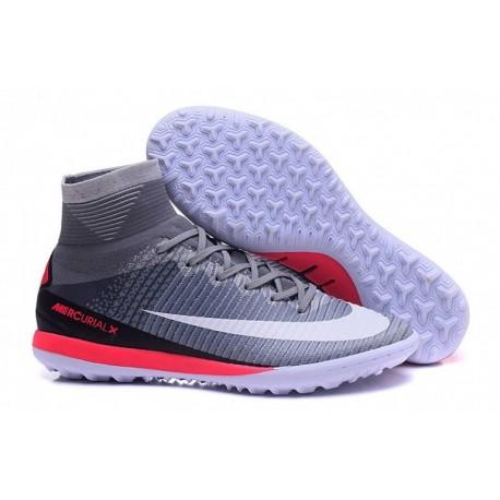 Remise Nike MercurialX Proximo II TF - Wolf Gray-Blanc-Pure Platinum