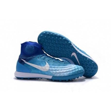 2016 Nike MagistaX Proximo II TF Turquoise Bleu / Blanc