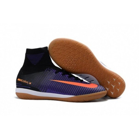 2016/2017 Nike MercurialX Proximo II IC Noir / Total Crimson / Hyper Grape
