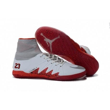 Nike HypervenomX Proximo Neymar JR IC Blanc / Rouge