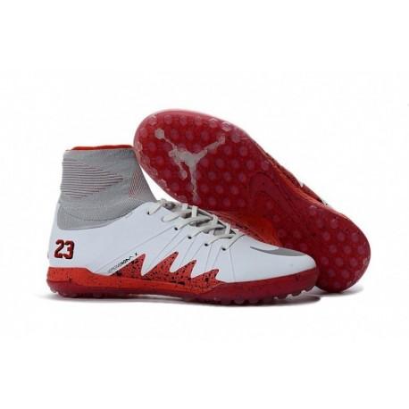 Nike HypervenomX Proximo Neymar JR TF Blanc / Rouge