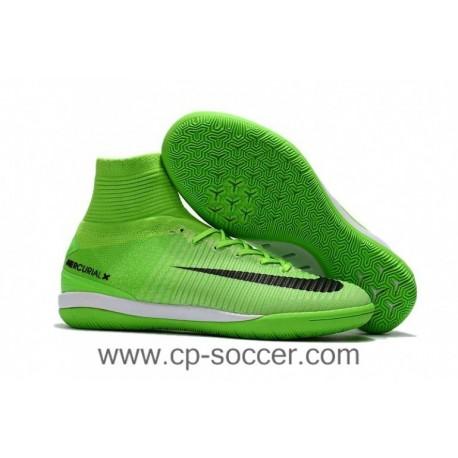 2017 Nike MercurialX Proximo II DF IC Soccer Cleats - Vert Électrique / Noir / Ghost Vert