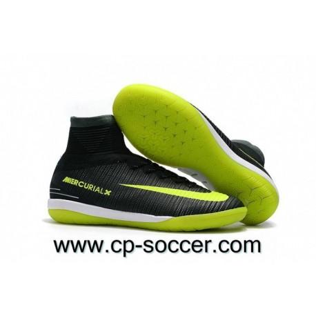 Nike MercurialX Proximo II CR7 IC Crampons de soccer Algues / Volt / Hasta / Blanc