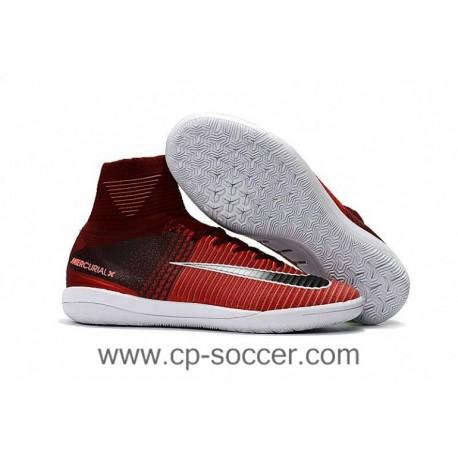 2017 Nike MercurialX Proximo II IC crampons de football - Marron / Rouge / Noir / Blanc