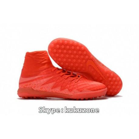 2017 Nike HypervenomX Proximo TF Soccer Cleats brillant Bright Crimson / Hyper Orange