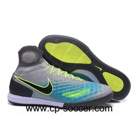 Chaussures de football Nike MagistaX Proximo II IC Pure Platinum / Ghost Vert / Clear Jade