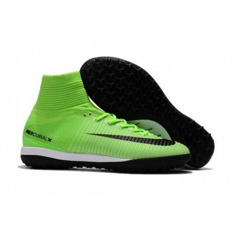 Nike MercurialX Proximo II DF TF - Vert Électrique / Noir / Vert Fantastique