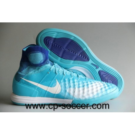 Nike MagistaX Proximo II IC Soccer Chaussures Turquoise Bleu / Blanc