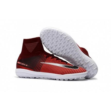 Nike MercurialX Proximo II TF - Marron / Rouge / Noir / Blanc