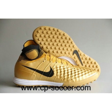 Nike MagistaX Proximo II TF Soccer Chaussures Or / Noir