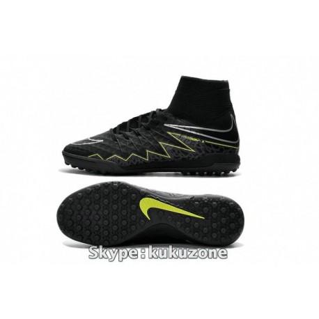 2017 Nike HypervenomX Proximo TF Soccer Cleats Nike / Volt / Metallic argent