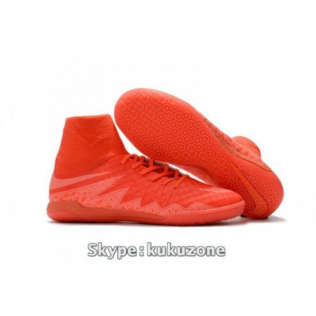 2017 Cheap Nike HypervenomX Proximo IC Soccer Cleats Bright Crimson / Hyper Orange