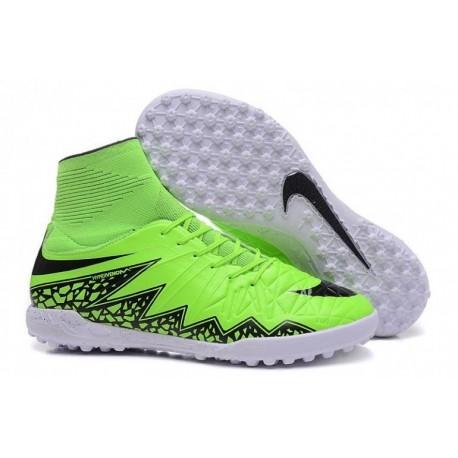 Nike HypervenomX Proximo TF Bottes de football Vert Strike Noir Volt