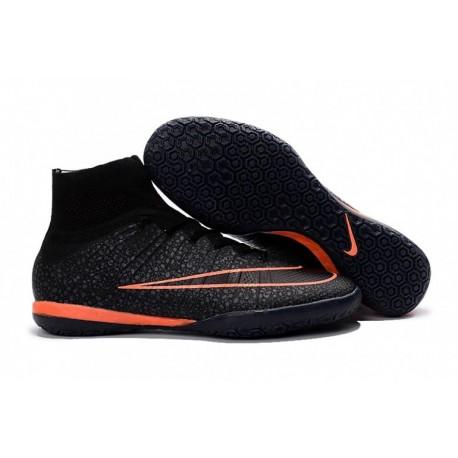 Nike MercurialX Proximo IC - Noir-Noir-Bright Mango