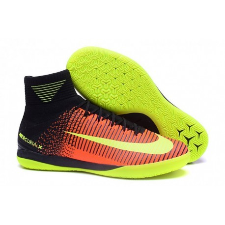 Cheap Nike MercurialX Proximo II IC - Explosion totale de Crimson-Volt-Rose