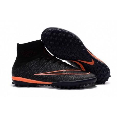 Nike MercurialX Proximo TF - Noir-Noir-Bright Mango