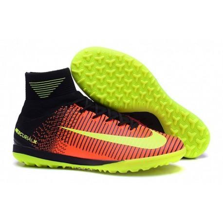 Nouveau Nike MercurialX Proximo II TF - Total Crimson-Volt-Rose Blast