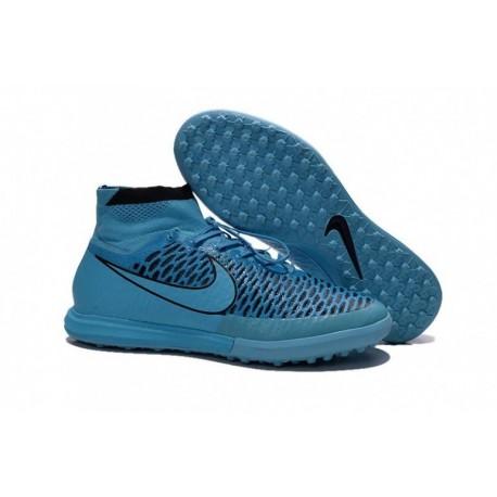 Nike MagistaX Proximo TF Soccer Cleats Bleu Noir