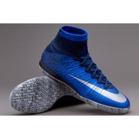 Nike MercurialX Proximo CR7 IC Deep Royal Bleu / Argent métallisé / Racer Bleu
