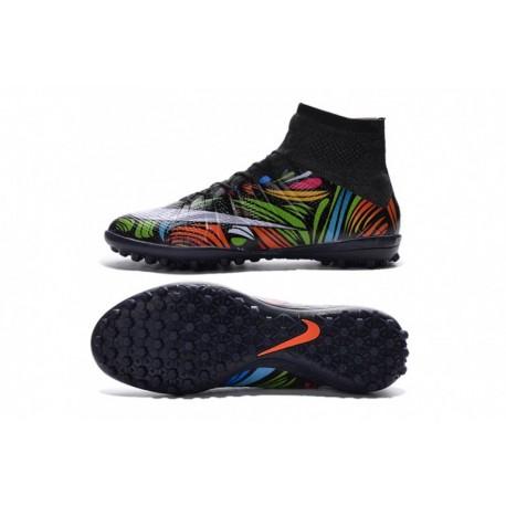 Nike MercurialX Proximo TF Ousadia e Alegria ciseaux Noir-Total Crimson