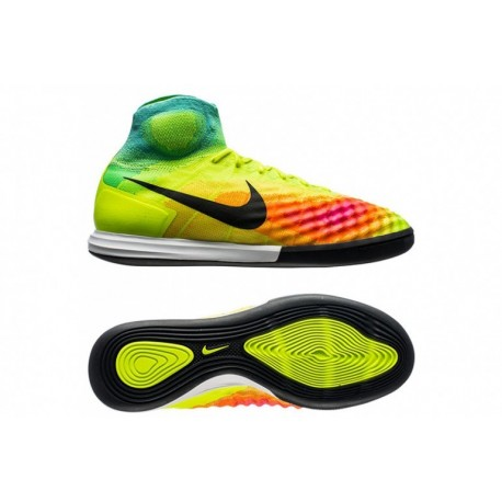 2016 Nike MagistaX Proximo II IC Volt-Noir-HyperTurquoise-Total Orange-Rose Blast