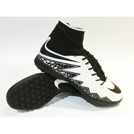 Prix Nike HypervenomX Proximo TF Turf Soccer Cleats Blanc / Noir