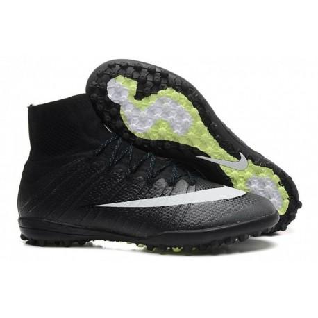 Bottes de football Nike MercurialX Proximo Street TF CR7 Noir Blanc