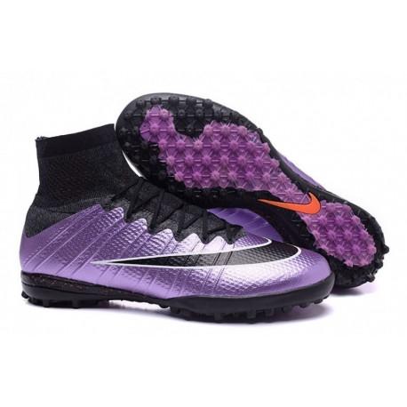Chaussures de football Nike MercurialX Proximo Turf - Urban Lilac-Bright Mango