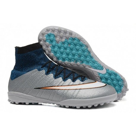 Nike MercurialX Proximo Street TF Bottes de football CR7 argentware