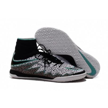 Nike Hypervenom X Proximo IC Safari - Blanc-Noir-vert Glow