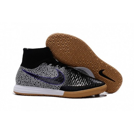 Nike MagistaX Proximo IC - Noir Fierce-Violet-Wolf Grey