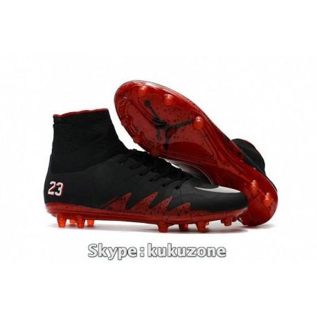 2017 Nike Hypervenom Phantom II FG Neymar x Jordan Noir / Rouge