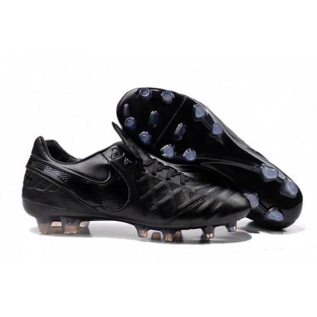 Bottes de football Nike Tiempo Legend VI FG Noirout