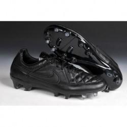 Bottes de football Nike Tiempo Legend V FG Noirout