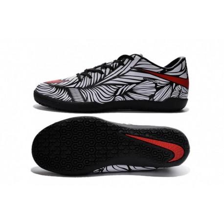 Nike Kids HyperVenom Phelon II Neymar IC Noir Brillant Blanc cramoisi