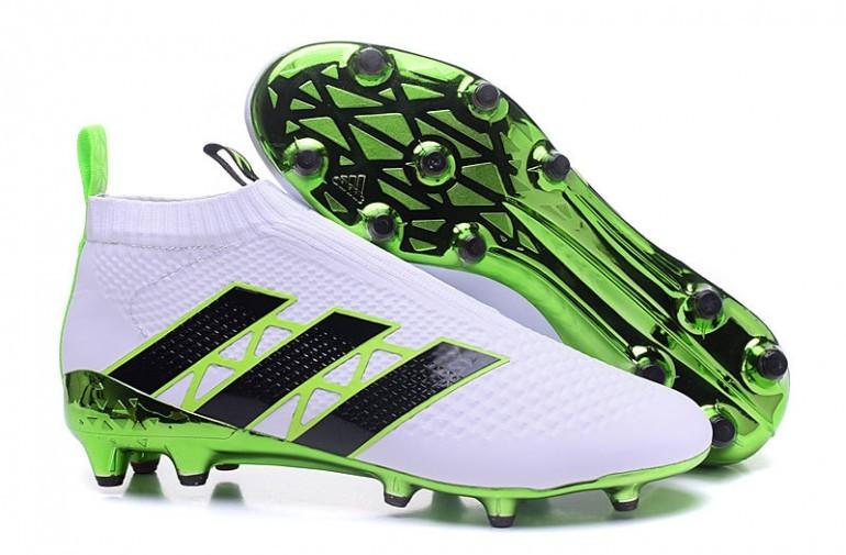 Cheap adidas ACE 16+ PureControl FG Blanc Vert Noir