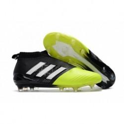 Adidas ACE 17+ Purecontrol FG - Jaune / Noir / Blanc