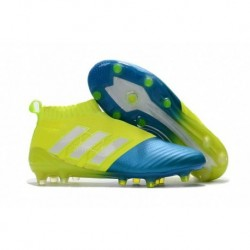 Adidas ACE 17+ Purecontrol FG - Jaune / Bleu