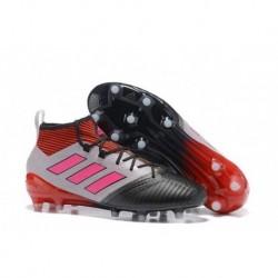 2017 adidas ACE 17.1 Primeknit FG Crampons de football - Rouge / Blanc / Rose / Noir