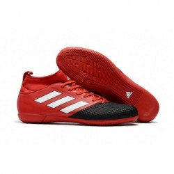 2017 chaussures adidas ACE 17.3 Primemesh Indoor Soccer - Rouge / Blanc / Noir