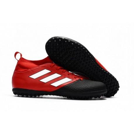 2017 adidas ACE 17.3 Primemesh TF Crampons de football - Rouge / Blanc / Core Noir