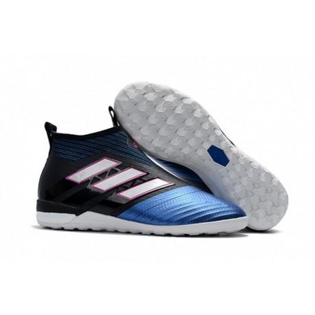 Adidas ACE Tango 17+ Purecontrol IN - noyau noir / blanc / bleu