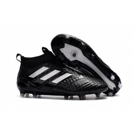 Adidas ACE 17+ Purecontrol FG - noyau noir / blanc / noyau noir