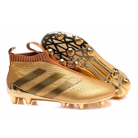 Adidas ACE 16+ Purecontrol FG Crampons de football Rose Or Colourway